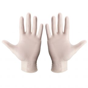 Betatex Ultra leichte Nitril-Einmalhandschuhe - Weiß