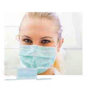 Mundschutz, dreilagig - zum binden