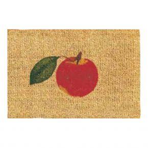 Kokosvelour-Matten - Apfel