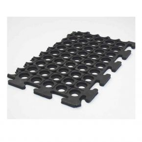 NOVA Ribbed surface, punched base Single mat