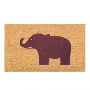 Kokosvelour-Matten - Elefant
