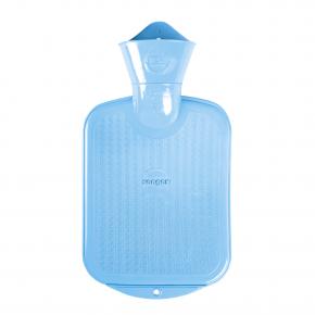 0,8 L Wärmflasche - hellblau