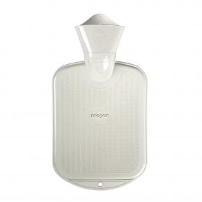 0,8 L Wärmflasche - Weiß