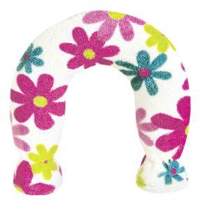 Nackenwärmflasche - Blumen Design