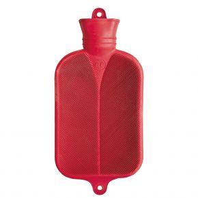 2.0 Liter Wärmflasche, Rot, 38 x 20.5 cm
