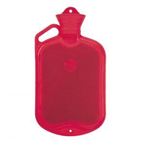 2.0 Liter Wärmflasche, Rot, 39 x 19 cm