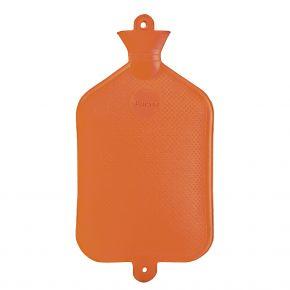 2.0 Liter Wärmflasche - Orange, 40 x 20 cm