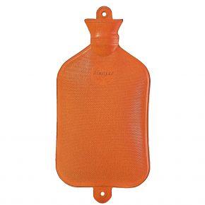 2,5 Liter Wärmflasche - Orange, 43 x 21 cm